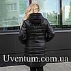 Удлиненная куртка женская демисезонная большого размера    50-62 пудра, фото 2