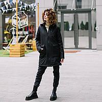 """""""Черная"""" Демисезонная слингокуртка 4 в 1 Love & Carry 2020 Пальто для беременных Парка, фото 1"""