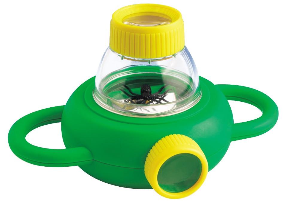 Набор натуралиста Контейнер для насекомых с лупами 4x 6x Edu-Toys (BL010)