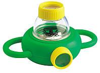 Набор натуралиста Контейнер для насекомых с лупами 4x 6x Edu-Toys (BL010), фото 1