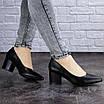 Женские туфли на каблуке черные Pebbles 2009 (37 размер), фото 4