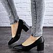 Женские туфли на каблуке черные Pebbles 2009 (37 размер), фото 6