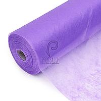 Одноразовые простыни в рулонах 0,8х100 метров 23 г/м2, медицинские, для салонов красоты, фиолетовые