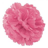 Декор бумажные Помпоны 35см розовый 0020, фото 1