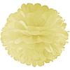 Декор бумажные Помпоны 35см шампань 0017