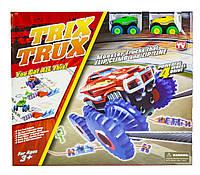 Игровой набор Гоночный трек Монстр TRIX TRUX Большой набор на 2 машинки (SD BB884)