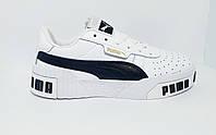 Кроссовки белые кожа ., фото 1