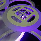 Светодиодная LED люстра СветМира 100 Вт с подсветкой и регулировкой яркости LS-7122/3+3, фото 2