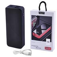 Power Bank JS-12 UNIVERSAL HIGH SPEED 3000mAh 2USB(1A+2A)+1Micro USB+ 1Type-C цифровой дисплей