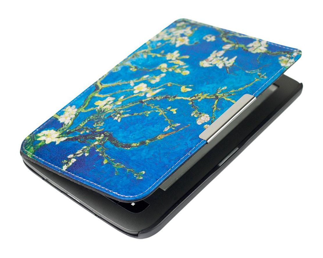 Чохол для PocketBook 614 електронної книги малюнок Amandelbloesem