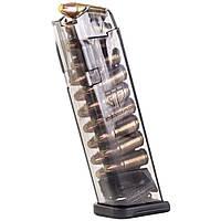 Магазин ETS для Glock 9 мм. Емкость - 22 патрона. Прозрачный