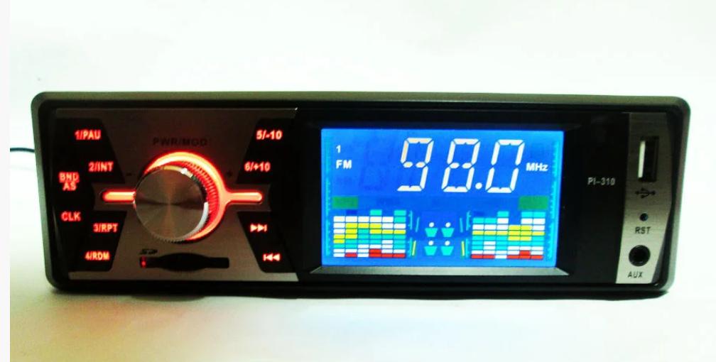 Автомагнитола Pioneer PI-310 - USB+SD+FM+AUX