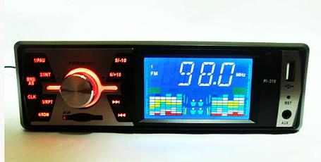 Автомагнитола Pioneer PI-310 - USB+SD+FM+AUX, фото 2