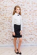 Школьная юбка для девочки Школьная форма для девочек VIANI Украины ШК138 Синий