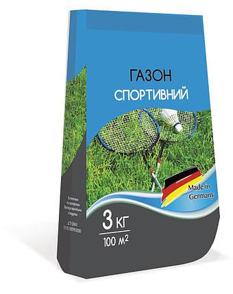 Семена Газонная трава Спортивная смесь 3 кг Семейный Сад 2711, фото 2