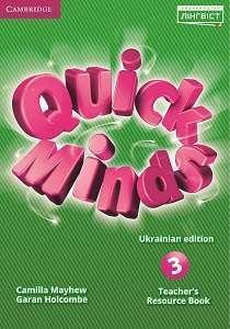 Quick Minds (Ukrainian edition) 3 Teacher's Resource Book