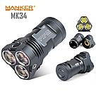 Фонарь мощный MANKER MK34 8000lm 12xCREE XPG3 + подарок, фото 2