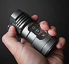 Фонарь мощный MANKER MK34 8000lm 12xCREE XPG3 + подарок, фото 6
