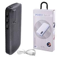 Power Bank JS-88 UNIVERSAL 8000mAh 3USB(1A+2A+3A), цифровой индикатор заряда, фонарик 1LED
