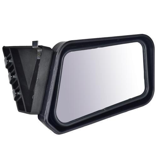 Зеркало боковое на ВАЗ 2101-2107 черное на болтах (99462)