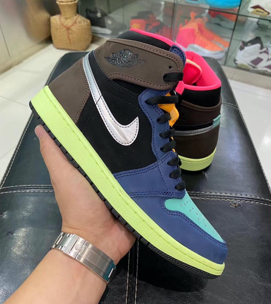 """Кроссовки Nike Air Jordan 1 Retro """"Разноцветные"""""""
