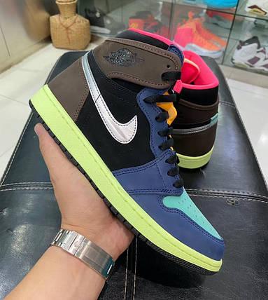 """Кроссовки Nike Air Jordan 1 Retro """"Разноцветные"""", фото 2"""