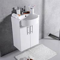 Шкафчик с умывальником FANCY MARBLE Ibiza ШН-512 + Comfort 512C (Белый), фото 1