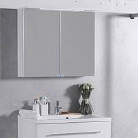 Шкафчик с зеркалом FANCY MARBLE ШЗ-10 (Белый), фото 1