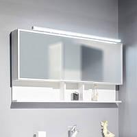 Шкафчик с зеркалом FANCY MARBLE ШЗ-Butterfly (Белый), фото 1