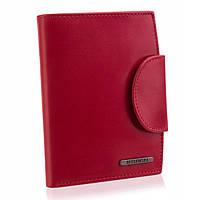 Жіночий шкіряний гаманець Betlewski з RFID 10,5 х 12,8 х 2,2 (BPD-VTC-319) - червоний, фото 1