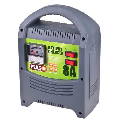 Зарядное устройство для автомобильного аккумулятора Pulso 6/12В 8А 112Ач (BC-15121)