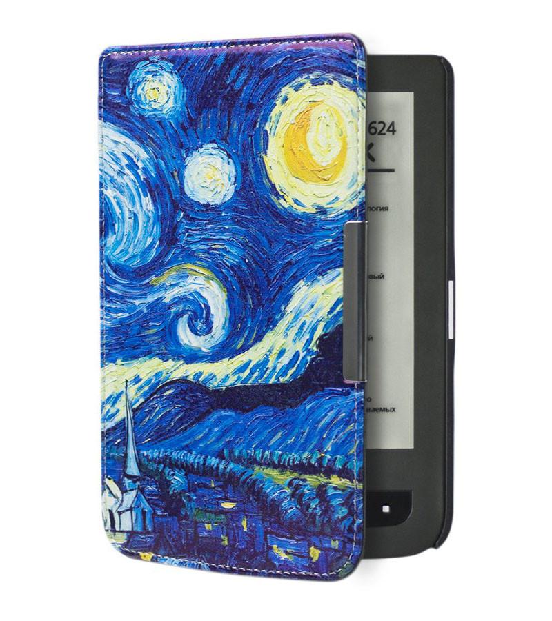 Чехол для PocketBook 614 с рисунком  Starry Night