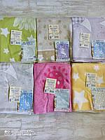 Одеяло хлопок 100% для новорожденных в роддом, 100×140см