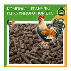 Удобрение куриный помет в гранулах