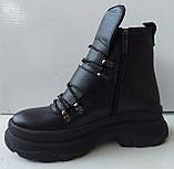 Ботинки молодежные из натуральной кожи от производителя модель ДИС721-2, фото 3
