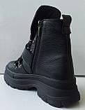 Ботинки молодежные из натуральной кожи от производителя модель ДИС721-2, фото 5