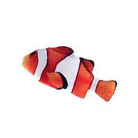 Рыба игрушка для кота плюшевая 3D Немо CatNip с кошачьей мятой 20 см