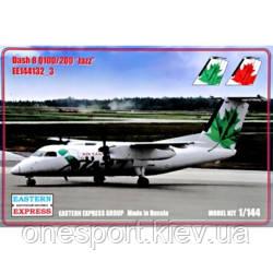 Пассажирский самолет Dash 8 Q100/200 Jazz + сертификат на 50 грн в подарок (код 200-522784)