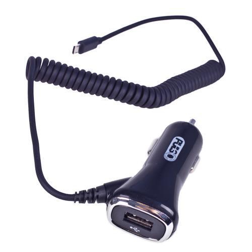 Автомобильное зарядное устройство PULSO C-2407BK 1USB+Android (12/24V - 5V 2,4A) (C-2407BK)
