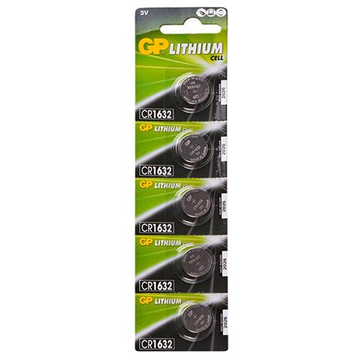 Батарейка GP дисковая Lithium Button Cell 3.0V CR1632-7U5 литиевые (CR1632)