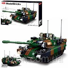 """Конструктор Sluban M38-B0839 """"Боевой танк 2в1 Leopard 2A5 MBT"""" 766 дет"""
