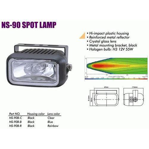 Фары дополнительные  NS-90 B-C H3/12 В/55W/97*50mm (NS-90 B-C)