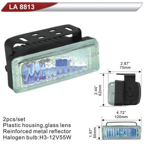 Фары дополнительные  DLAA 8813 RY/H3-12V-55W/120*50mm (LA 8813 RY)