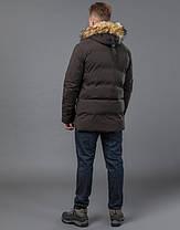 Tiger Force 55825 | Мужская зимняя куртка кофе 46 (S) 48 (M) 50 (L) 54 (XXL), фото 3