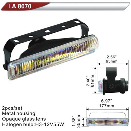 Фары дополнительные  DLAA 8070 RY/H3-12V-55W/177*35mm (LA 8070 RY)