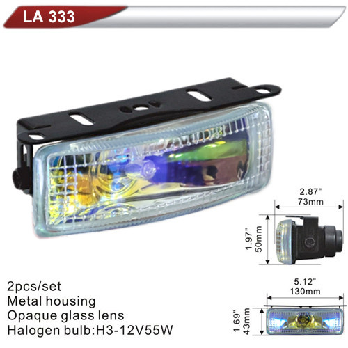 Фара дополнительная  DLAA  333-RY/H3-12V-55W/130*43mm (LA 333-RY)