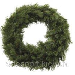 Вінок декоративний штучний Forest frosted зелений, ? 45 см, Triumph Tree Edelman (код 131-415418)