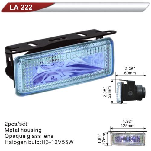 Фара дополнительная  DLAA  222-RY/H3-12V-55W/125*47mm (LA 222-RY)