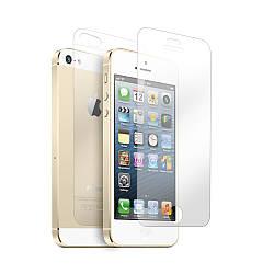 Защитная пленка (глянцевая) для iPhone 5G/5S (передняя и задняя)