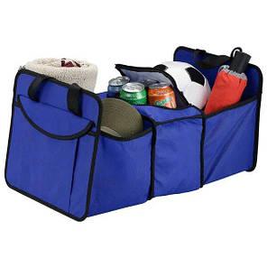 Органайзер холодильник у багажник автомобіля Trunk organizer cooler Червоний, фото 2